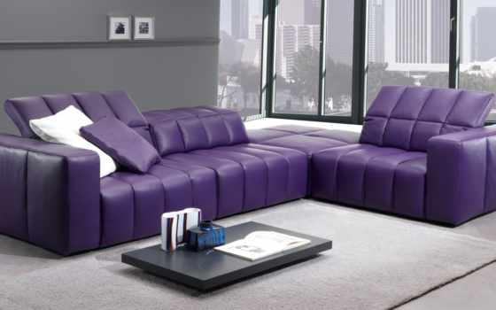 диван, interer, интерьере
