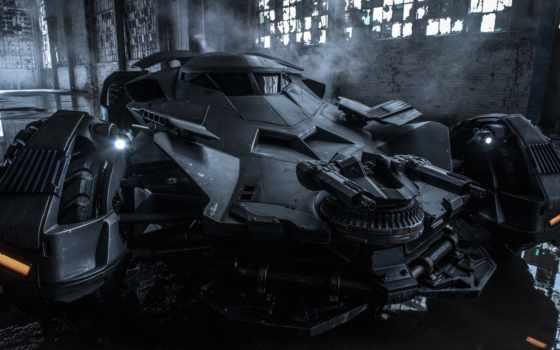 бэтмобиль, new, зак, снайдер, фильма, против, бэтмена, batman,