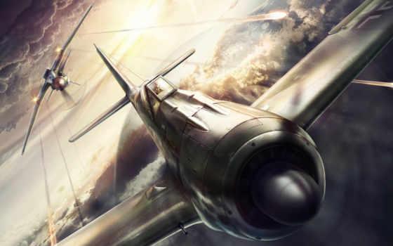 истребитель, рисунок, картинка, бой, pinterest, second, самолёт, war, world, графика, фотообои,