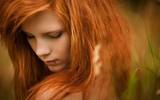 cvet, волос, рыжие