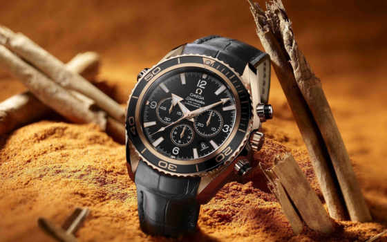 часы, omega, chronometer, watch, песок, seamaster,