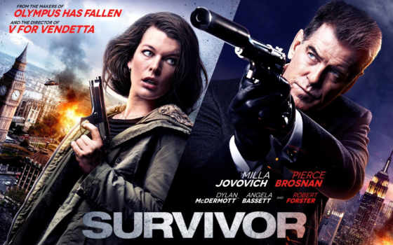 йовович, милла, movie, survivor, posters, плакат, броснан, pierce, movies, starring,