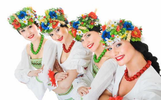 attire, український, девушка, бусы, pair, tanec, улыбка, показать, яки, cvety, art,