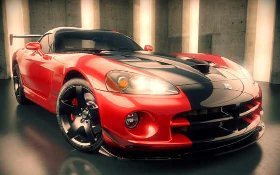viper, dodge, вайпер, srt, суперкар, автомобили, рендер, fast, диски,