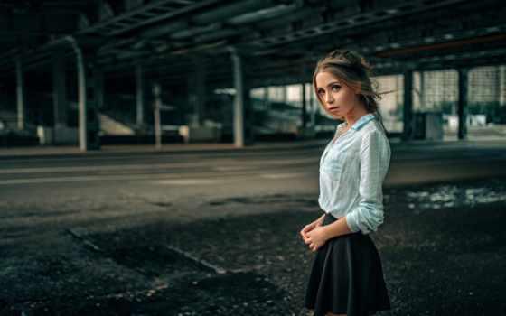 девушка, взгляд, kokoreva, картинка, xenia, ксения, юбка, красивая, модель,
