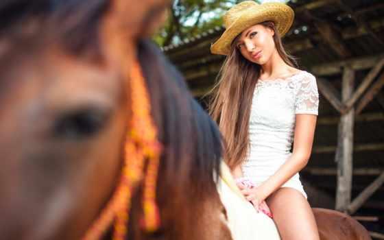 лошади, шляпа, vecera, whohoo, vita, devushki, девушка, zhivotnye, women,