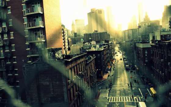 город, улица, new