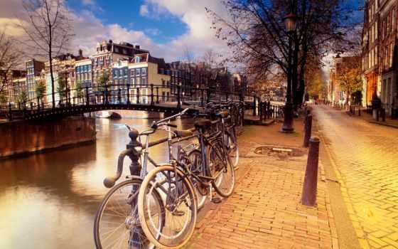 amsterdam, город, нидерланды, экскурсия,