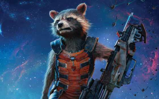 rocket, енот, guardians, galaxy, groot, vol, плакат, marvel,