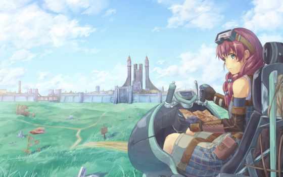 anime, оригинал, chou, memo, kamisama, пейзажи -, myojo,