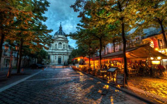 париж, кафе, university, puzzle, франция, парижа, quarter, latin, европы, eur,