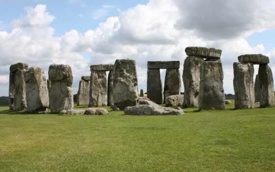 stonehenge, prehistoric, камень, ан, памятник, старинный