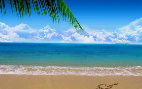 море, relax, пляж, декабрь, marine, фон, песок, thai, charter, волна, полет