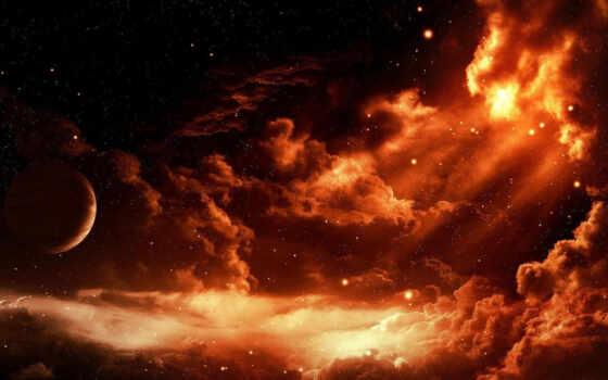 планета, облаках Фон № 12342 разрешение 1920x1200