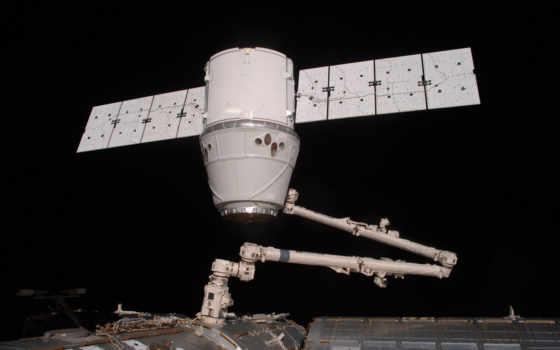 дракон, spacex, космос, корабль, мкс, корабля, частное, транспорт,