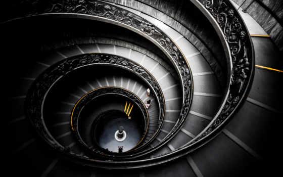 vatican, больш, ardezart, spiral, лестница, интерьер, радио, staircase, online, ватикана,
