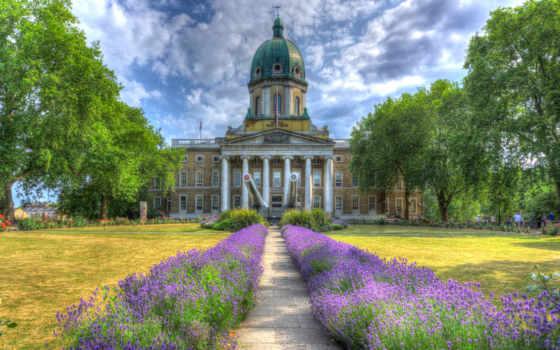 ук, lavender, hdr, war, imperial, london, дома, тегом, газон, cvety,