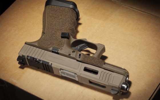 pistol, desktop, images, glock, самозарядный, photos, пистолет, оружие,