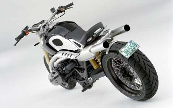 bmw, nine, ninet, всадник, accessoires, concept, мото, tail,