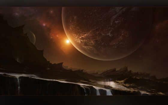 planet, scus, космос, арта, красавица, art, свет, universe, будущее, красивый