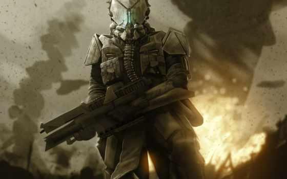 sci, deviantart, armour, доспех, art, fatmarco, солдат, cyber,