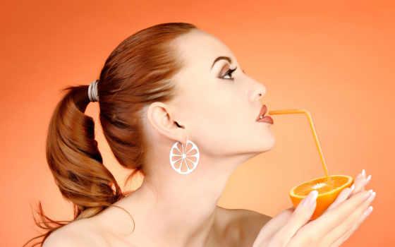 диета, апельсиновая, рыжих, iphone,