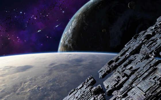 космос, корабль Фон № 24322 разрешение 1680x1050
