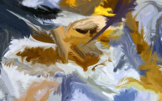 краски, картина