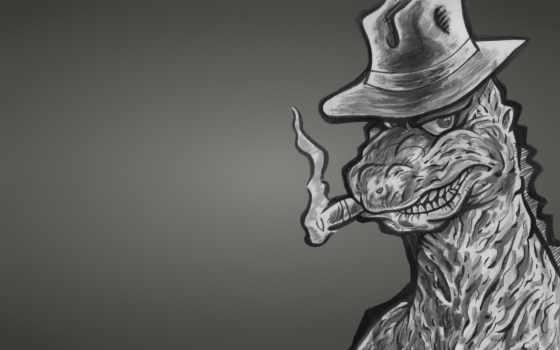 monster, динозавр, godzilla