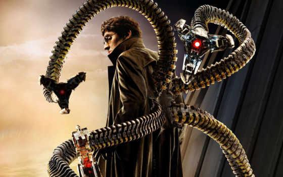 доктор, осьминог, otto, место, дебютный, октопус,