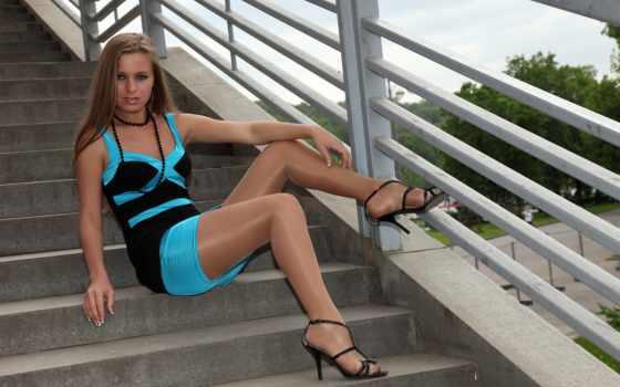платье, девушка, devushki