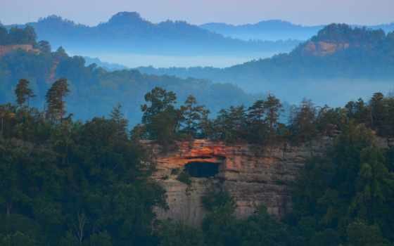 природа, горы, долина