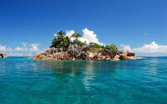 seychelles, остров, природа, мест, красивые, мира, tropics, места, острова, красивая,
