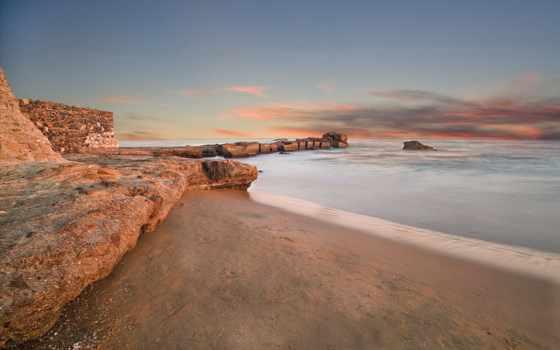 seaside, desktop, пляж, взгляд, mason, pictures,