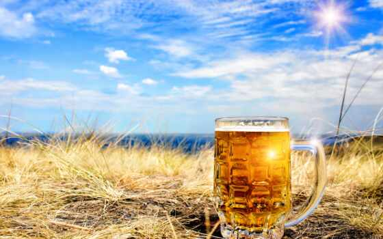 пиво, pantalla, circle, cerveza, ребенок, трава, gratis, glass, небо, cielo
