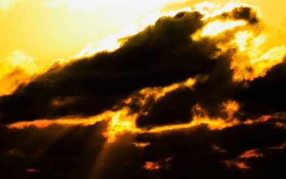 sky, burning