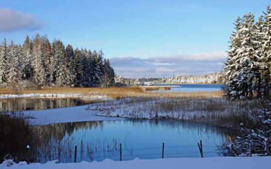 пейзажи -, дек, красивые, зимние, природы, фоновых, качестве, зимней, замечательные, фона,