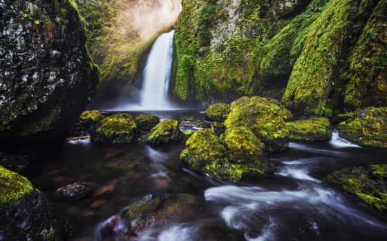 природа, que, фоны, сено, красивые, скалы,