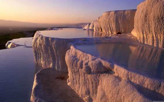 места, pamukkale, мире, планете, интересные, мира, интересных, турции, самое, место,