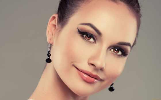 макияж, глаз, карих, брюнеток, глазами, сделать, карими, свет, красивый,