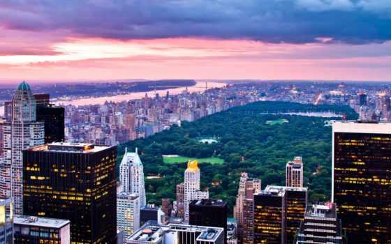 нью, park, центральный, york, new, сша, йорке,