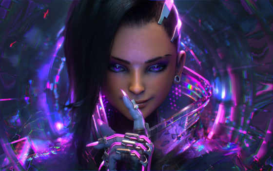 overwatch, sombra, blizzard, cartoon, короткометражны,