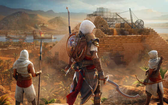 creed, assassin, origins, игры, hidden, assassin's, ubisoft, ones, cradle, египта,