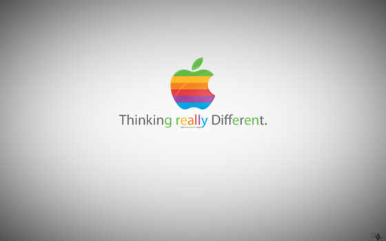 apple - thinking really different