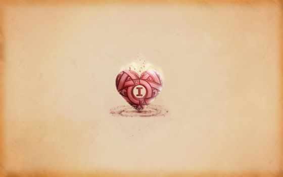 сердце, минималистичное