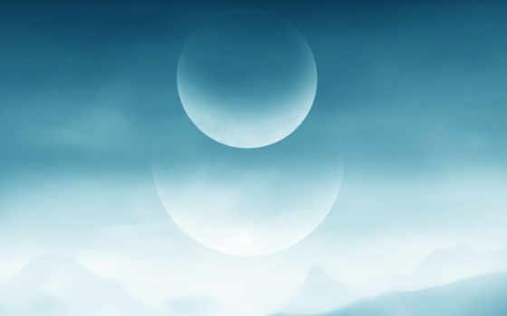 moon, minimalism