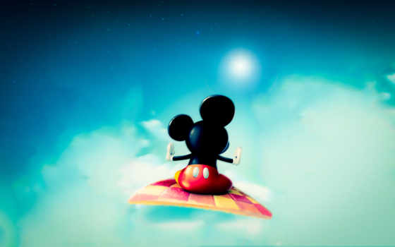 mickey, mouse, телефон