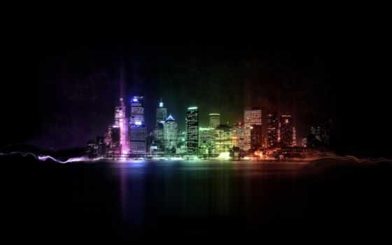 desktop, images, река, дек, высокого, качества, город,