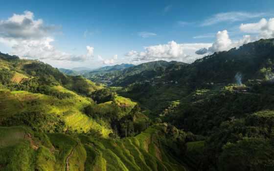 природа, philippines, взгляд, верху,