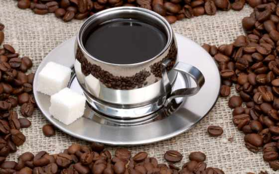 кофе, чашке, сахаром, зерна, чашка, разное, смотрите, декор, напиток, горячий,